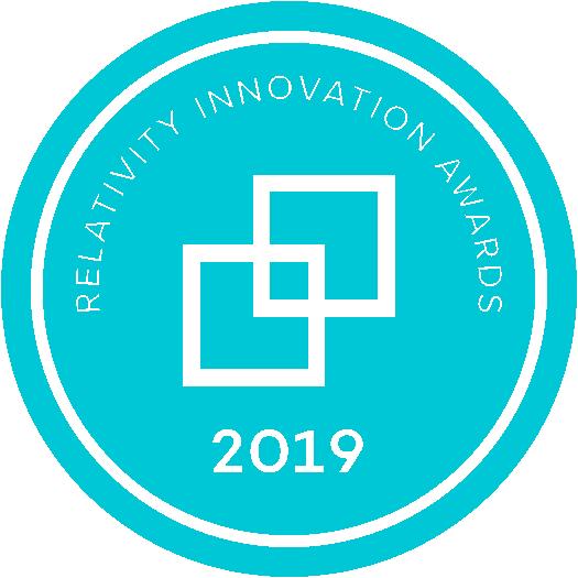2019 Relativity Innovation Awards