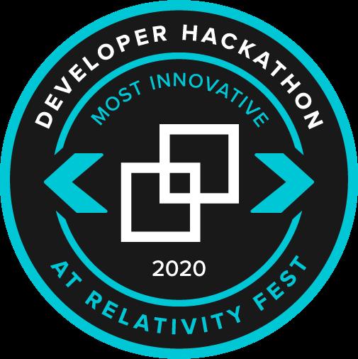 2020 Developer Hackathon | Most Innovative
