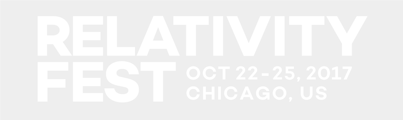 Relativity Fest 2017 - October 22-25 | Chicago, IL