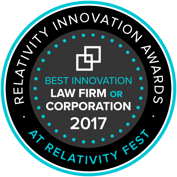 Innovation Awards - Best Law Firm or Corporate Solution Badge