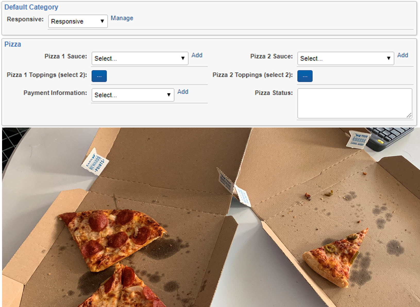 PizzaApp by Sandline Discovery Screenshot