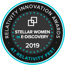 Stellar Women in e-Discovery Award