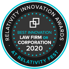 Law Firm or Corporation Award Seal