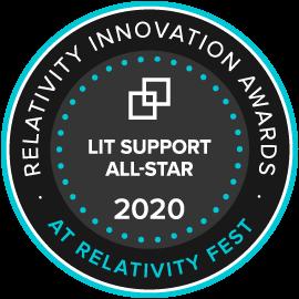 Lit Support All-Star Award