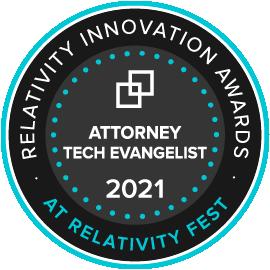 Attorney Tech Evangelist Award